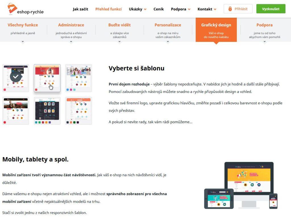 E Shop Rychle Customizace