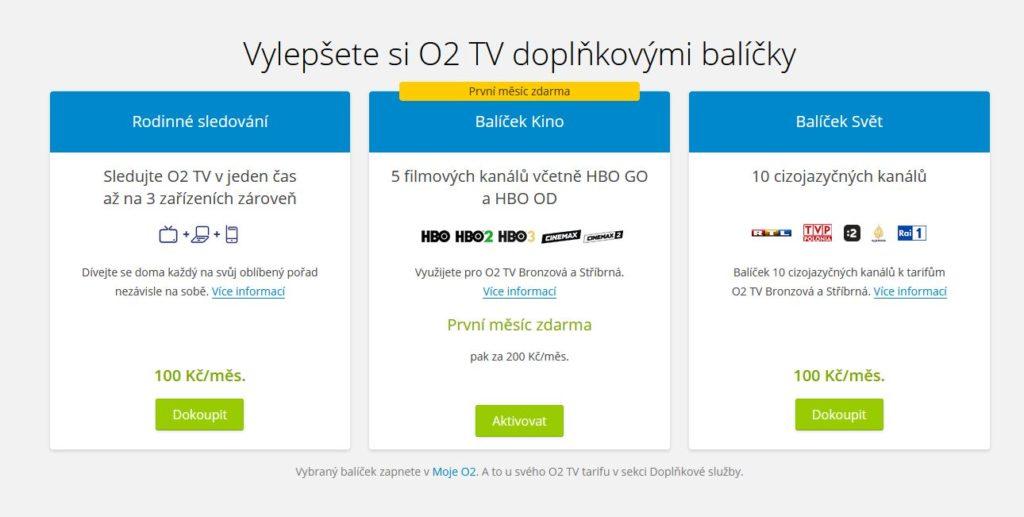 O2 Tv Doplnkove Balicky