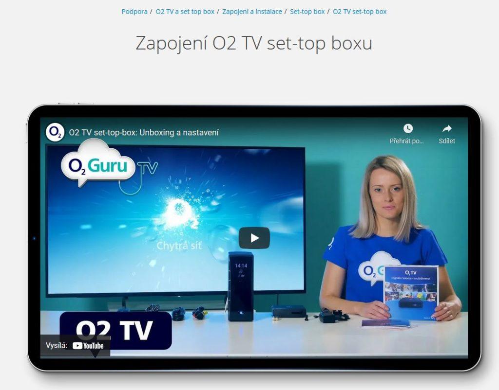 O2 Tv Inpstalace
