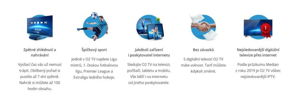 O2 Tv Vyhody