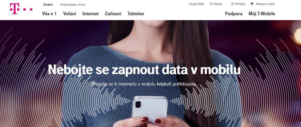 T Mobile Data V Mobilu
