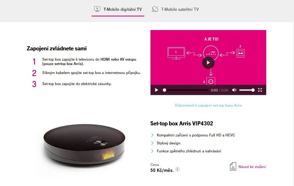 T Mobile Tv Instalace