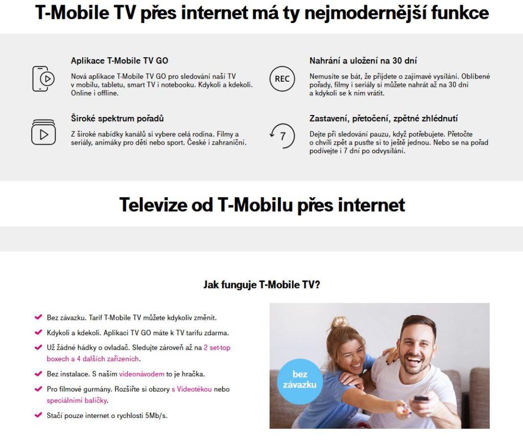 T Mobile Tv Vyhody