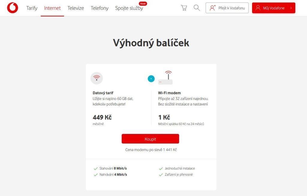 Vodafone Wifi Na Chatu
