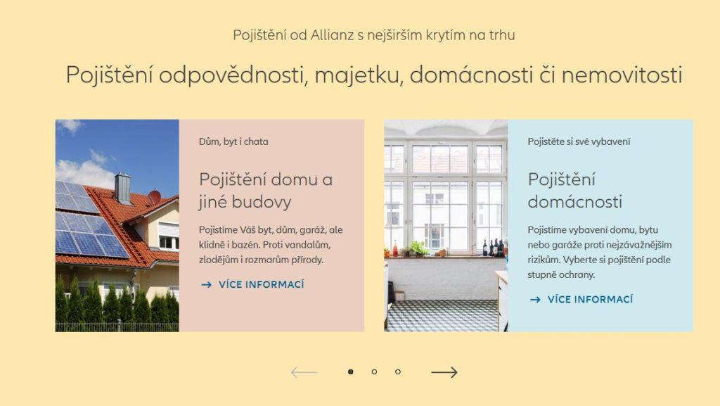 Allianz Domov Co Lze Pojistit