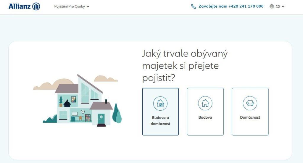 Allianz Domov Online Vypocet Pojisteni