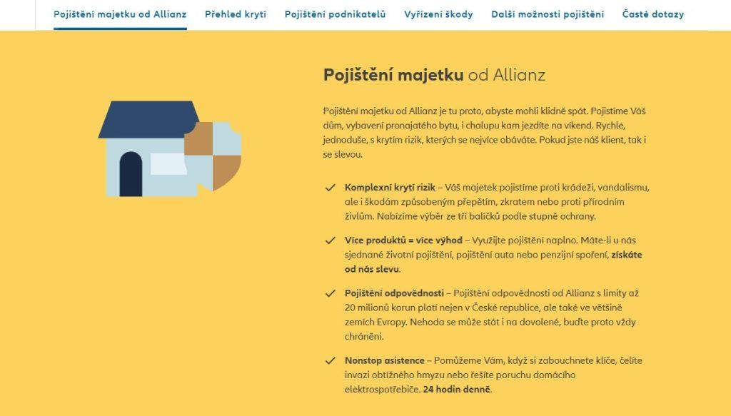 Allianz Domov Pojisteni Majetku