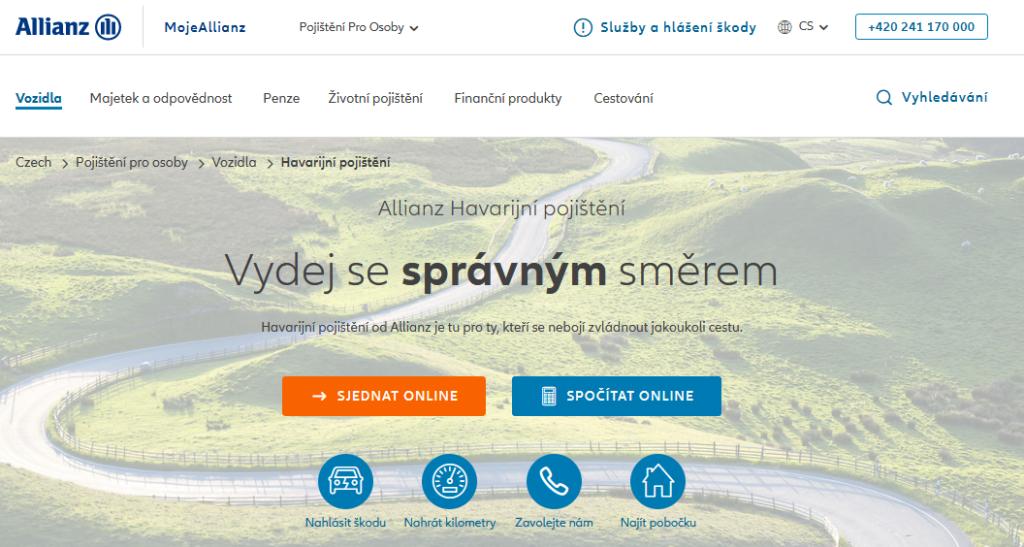 Allianz Havarijni Pojisteni Ukazka
