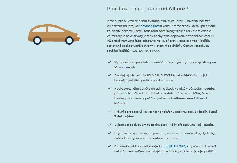 Allianz Havarijni Pojisteni Zakladni