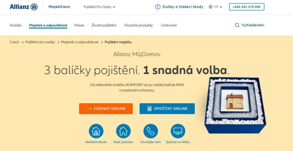 Allianz Pojisteni Majetku