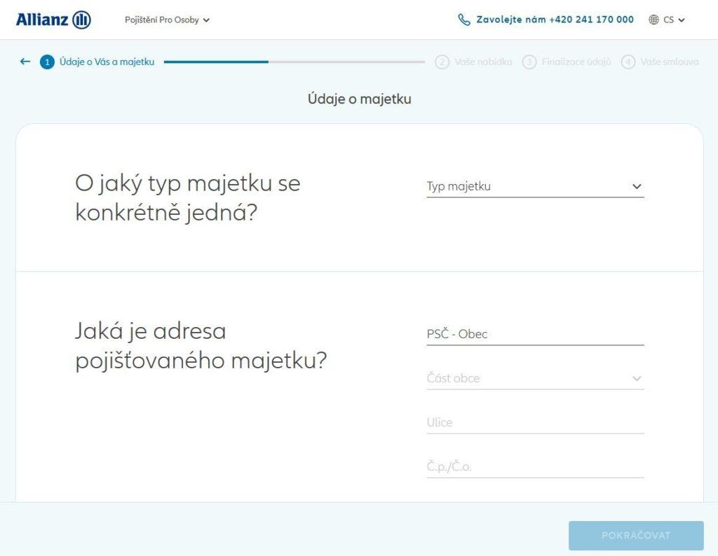 Allianz Pojisteni Majetku Pojisteni Online