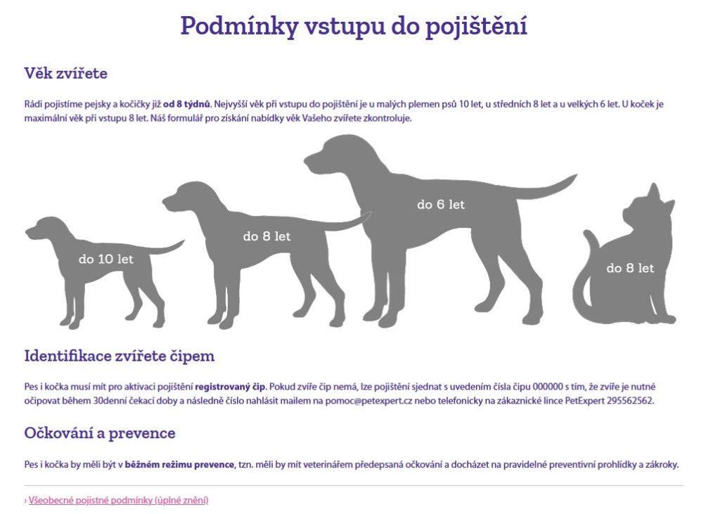 Petexpert Pojisteni Psa Kocky Podminky