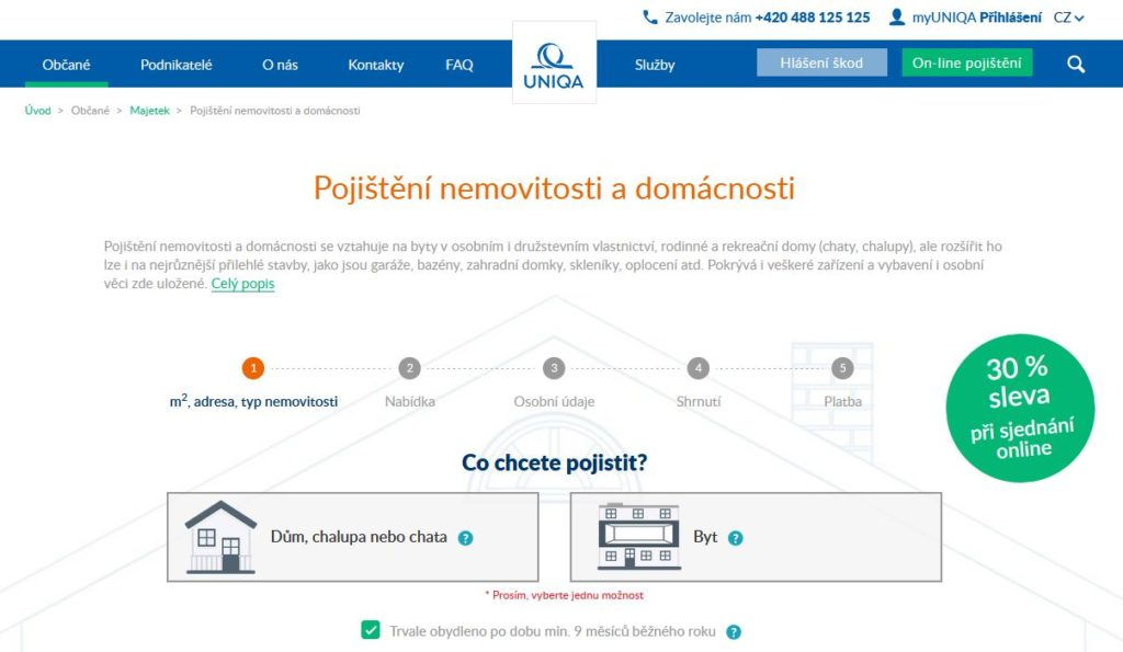 Uniqa Pojisteni Nemovitosti A Majetku Pojisteni Online