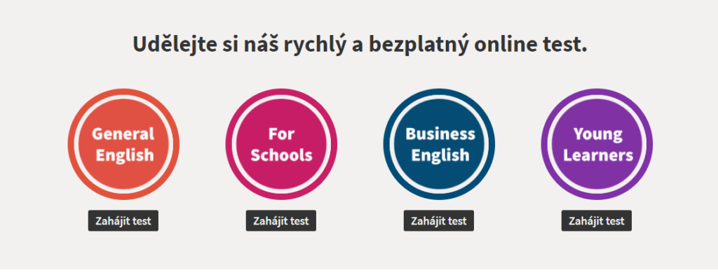 Test Urovne Anglictiny