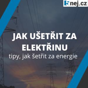 Jak Setrit Za Elektrinu